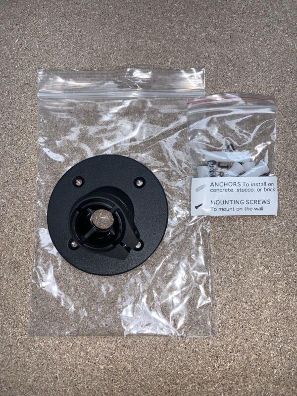 Genuine Ring Spotlight Battery Cam Extra Mount Bracket Black PART ONLY & Screws