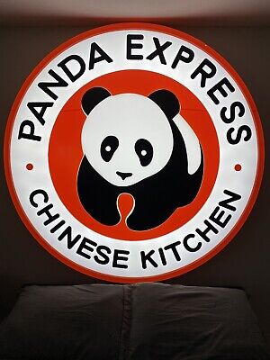 5.5ft 3d Panda Express Indooroutdoor Led Lighted Sign