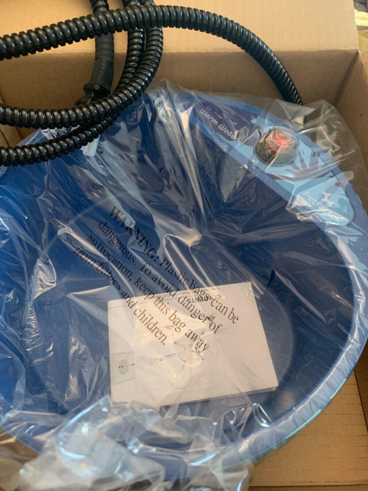 Petfactor Heated pet food  Bowl. 2.2L 35W CJ-PHBD25 Jungle Blue