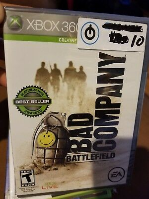 Microsoft XBOX 360 Battlefield: Bad Company (best seller , sealed (Best Xbox Party Games)
