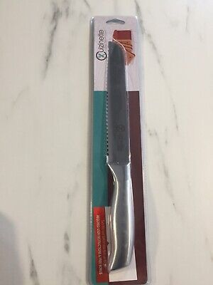"Cuizinette Stainless Steel Bread Knife - 8"" Long Serrated Blade. Better (Best Bread Knives)"