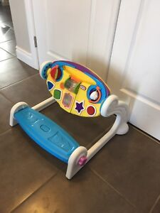 Little tikes 5-in-1 music/light up bench & easel