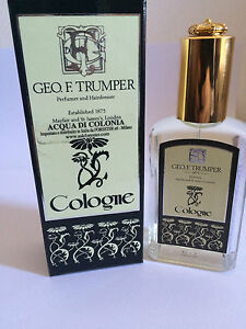 GEO F TRUMPER COLOGNE PROFUMO 50ML SPRAY ACQUA DI COLONIA GLASS RARO VINTAGE - Italia - GEO F TRUMPER COLOGNE PROFUMO 50ML SPRAY ACQUA DI COLONIA GLASS RARO VINTAGE - Italia