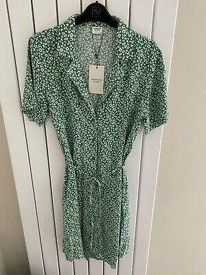 Jacqueline De Yong, New With Tags, Short Sleeved Shirt Dress, UK Size 12, EUR 40