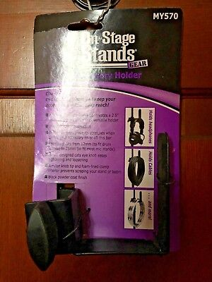 On Stage Stands Gear Accessory Holder MY570 Stage Universal Microphone Holder
