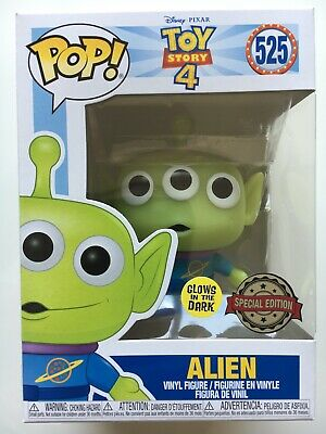 Funko Pop! Toy Story 4 - Alien (Glows In The Dark) #525 Special Edition