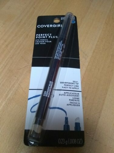 COVERGIRL Perfect Point PLUS Eyeliner Pencil, Midnight Blue