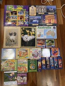 37 jigsaw puzzles - SOLD PENDING PICKUP