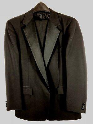 After Six Formal Wear Black One Button Tuxedo Jacket  W /  Pants  E.U.C. After Six Formal Wear