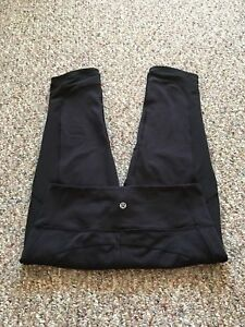 ❤️LULULEMON HIGH WAIST CROP WITH LARGE SIDE POCKETS & MESH