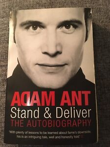 """Adam Ant """"Stand and Deliver"""" biography"""