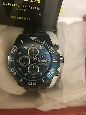 Invicta 47mm Pro diver Valjoux 7750 Chronograph New in box with tags and plastic