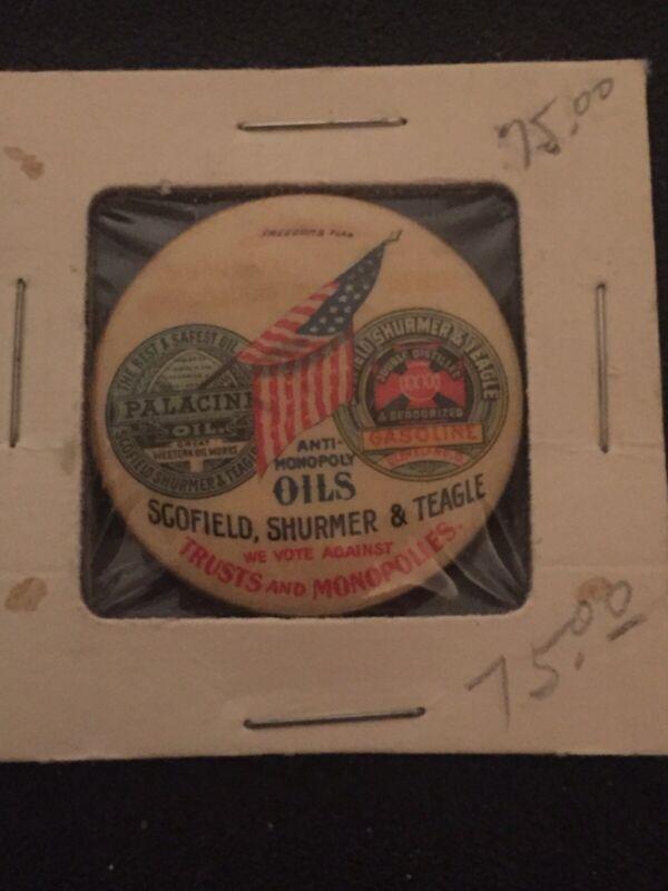 Whitehead & Hoag Co Button Gold Medal Omaha Exposition 1898