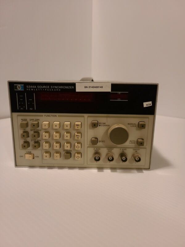 hp 5344a source synchronizer