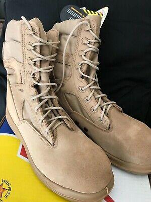 Belleville 310ST Desert Tan Hot Weather  Steel ToeTactical Combat Boot - size 13 Desert Hot Weather Boot