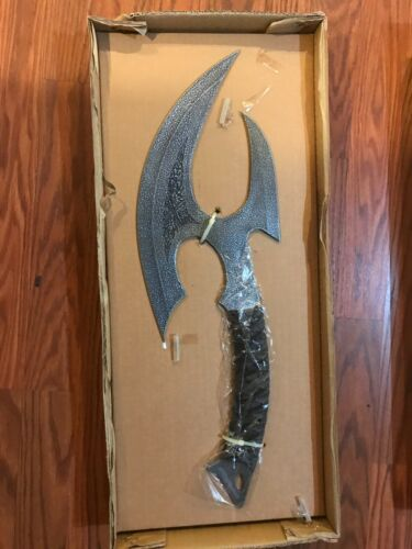 UNITED CUTLERY KIT RAE VOLKOTH FIGHTING AXE UC1292 FREE SHIPPING