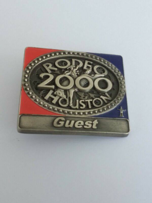 HOUSTON RODEO GUEST BADGE #317465