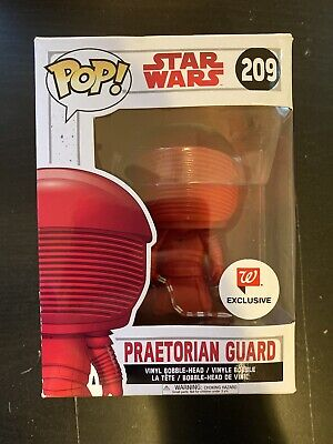 Funko POP! Star Wars Praetorian Guard Exclusive #209 Wallgreens Red Rare