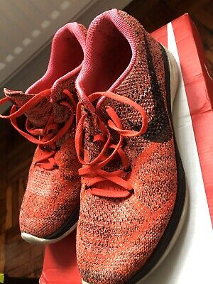 Nike Flyknit Lunar 3 RUNNING Trainers Size 8.5 UK EUR 43 RRP £119