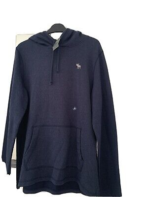 abercrombie Hoodie Mens. Size (m). Navy  Brand New