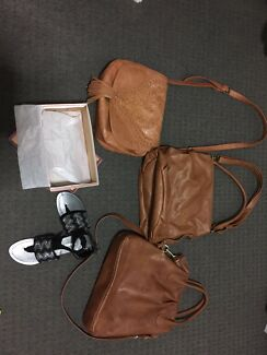 Ladies handbags and shoes
