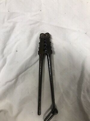 Vintage M. Klein Sons 9-b Lineman Wire Splicing Crimping Tool Antique