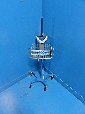 Ge Critikon 2033297 Dinamap Pro Series Monitor Blue Stand W Adapter Mount15253