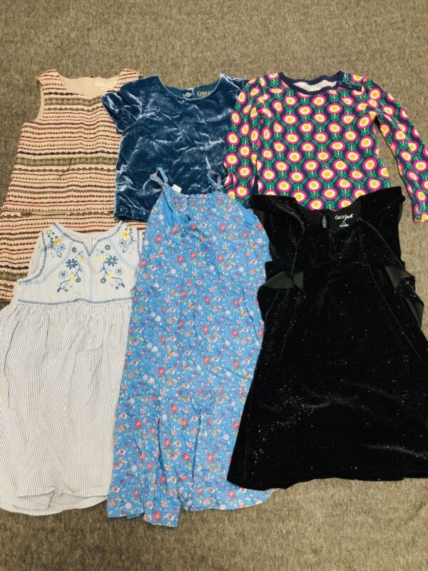 girl toddler clothes size 5 t lot