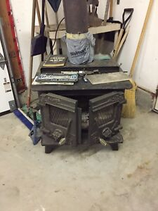 Triumph 2 door wood stove
