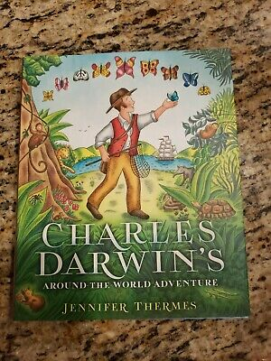 Charles Darwin's Around-The-World Adventure by Jennifer Thermes (2016, Hardcove… for sale  Manteca
