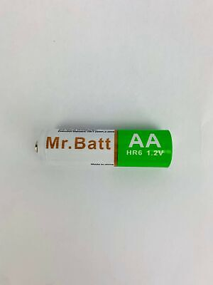Mr.Batt NiMH AA Rechargeable Batteries Pre-Charged 1600mA (8 Pack) Rechargeable Batt Pack
