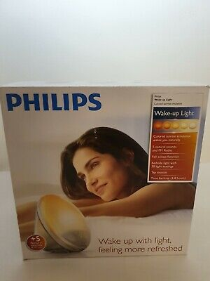 Philips HF3520/60 Wake-Up Light Alarm Clock With Colored Sunrise Simulation