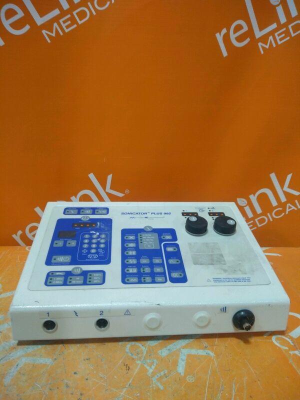 Mettler Electronics Sonicator Plus ME 992 Ultrasound & Muscle Stimulator