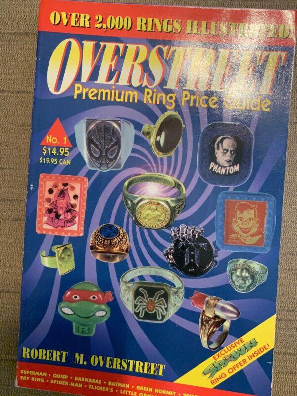 Overstreet Premium Ring Price Guide Book