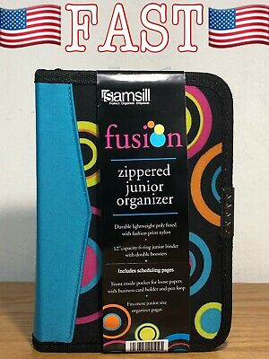 Personal Planner Organizer Bundle Includes Zippered Binder Do-it-yourself