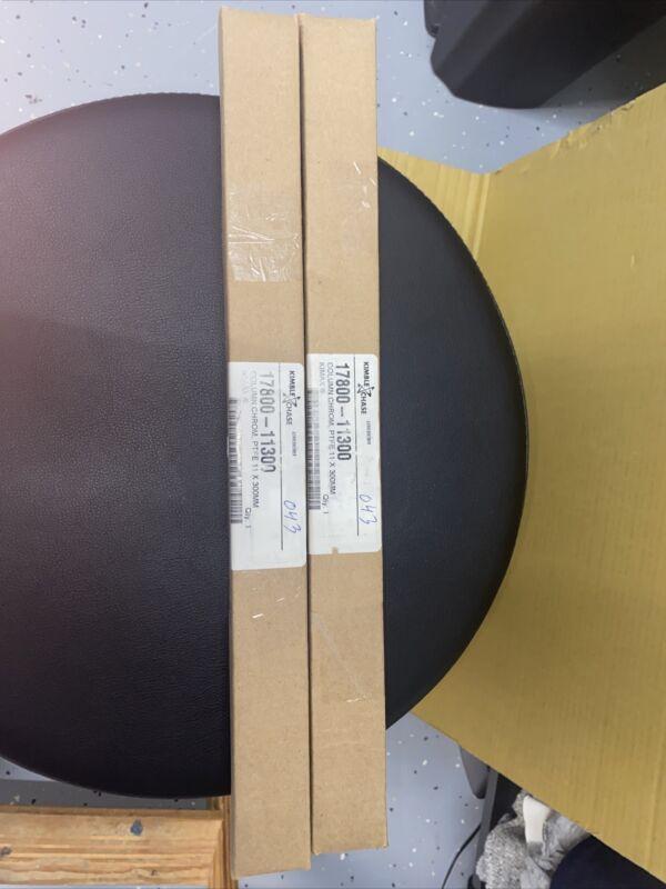 Lot 2 Kimble KIMAX Chromatographic Columns, Kimble Chase 17800 11300 PTFE 11x300
