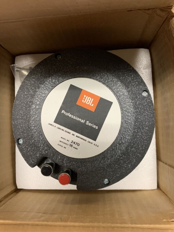 JBL Loudspeaker Compression Driver Model 2470
