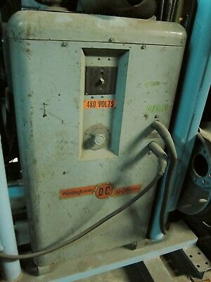 Westinghouse Dc Arc Welder 480v Type Rcp