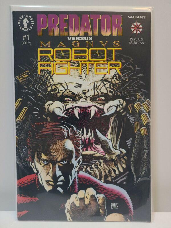 Predator VS Magnus Robot Fighter #1