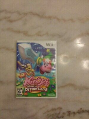 Kirby's Return to Dream Land Nintendo Wii 2011 Complete Tested
