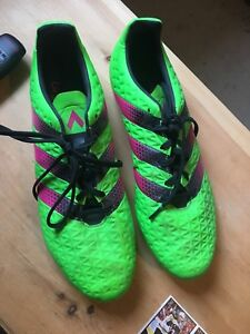 adidas Men's Ace 16.3 FG Outdoor Soccer Cleats - Green