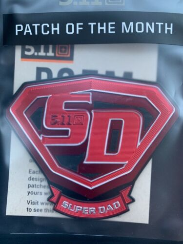 5.11 Tactical Patch of the Month JUNE 2021 POTM SUPER DAD