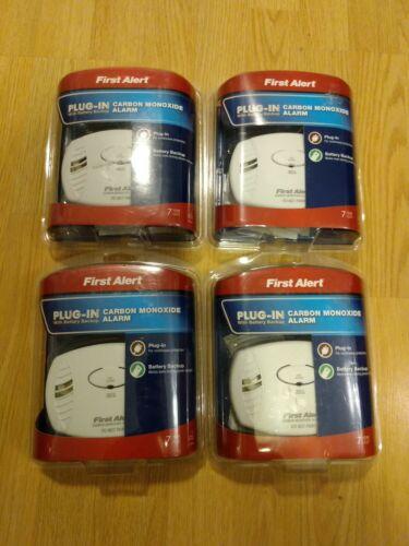 First Alert Plug-In Carbon Monoxide Alarm With Battery Backu