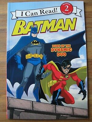 I Can Read! BATMAN DAWN OF THE DYNAMIC DUO Level 2 Book Brand New Robin Two-Face