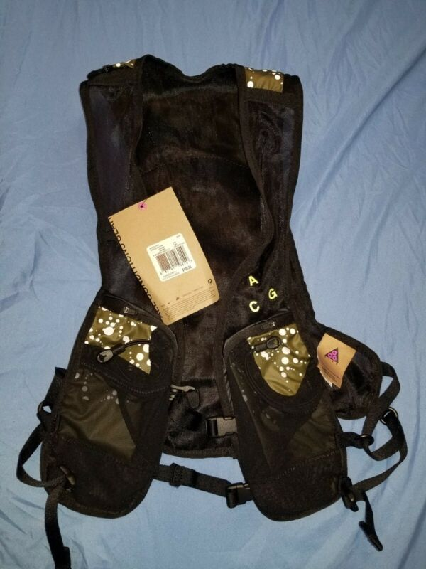 NIKE Lab ACG Hydration Race Vest Green Pack Bag 3.5L Sz S/M *NEW*retail $130