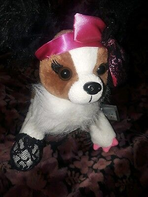 Webkinz dog  pop star with code