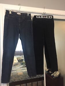 Ladies pants size 6 and seven
