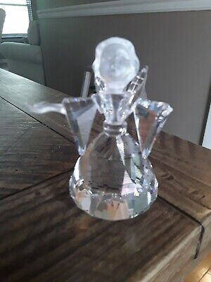 Swarovski Crystal Angel Figurine w/box