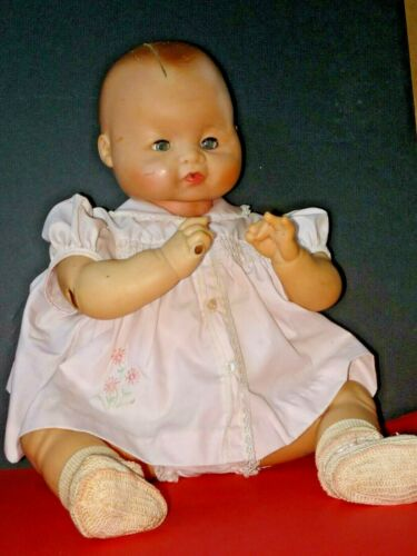 1961 Plated Moulds Vinyl and Hard Plastic Baby Doll