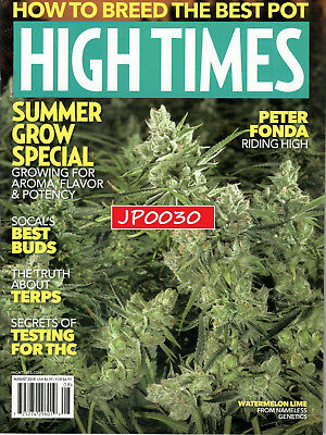 High Times August 2018, Summer Grow Special, Brand New/Sealed